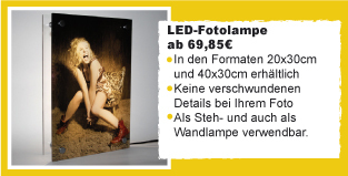 1. LED-Fotolampen